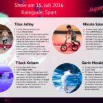 Superkids 2016 Folge 1 - Kandidaten im Bereich Sport