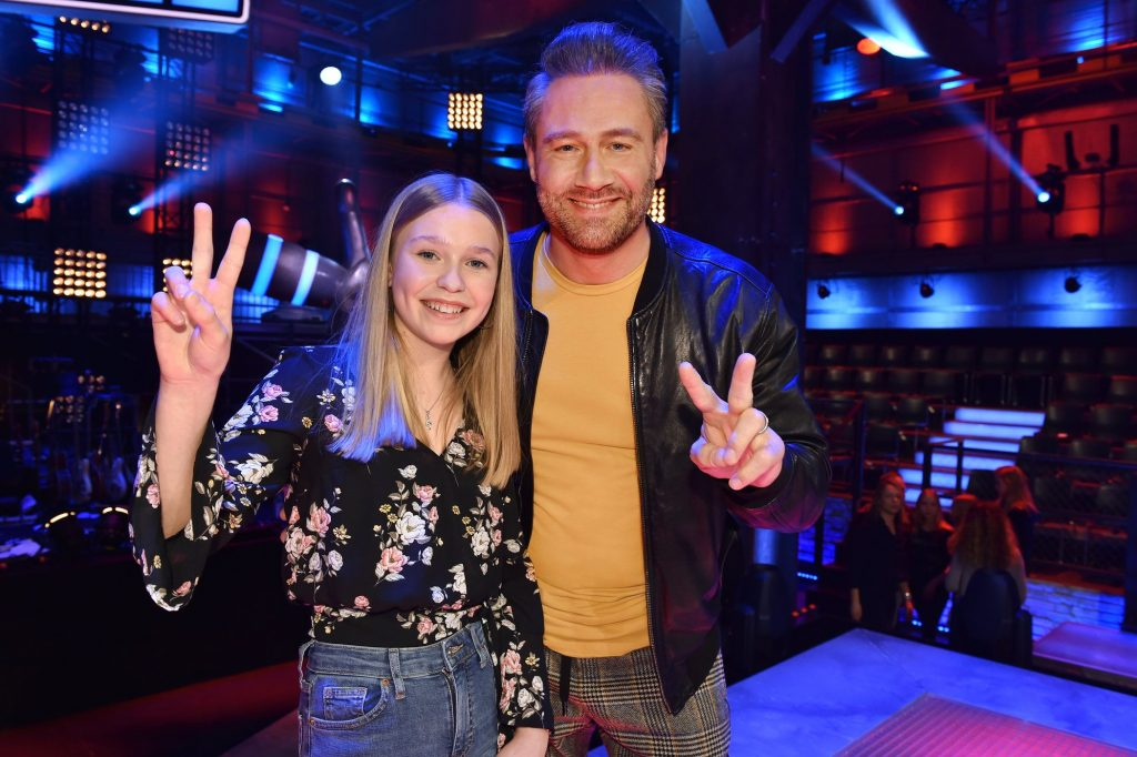 The Voice Kids 2020 Finale - Talent Lisa Marie mit Coach Sasha