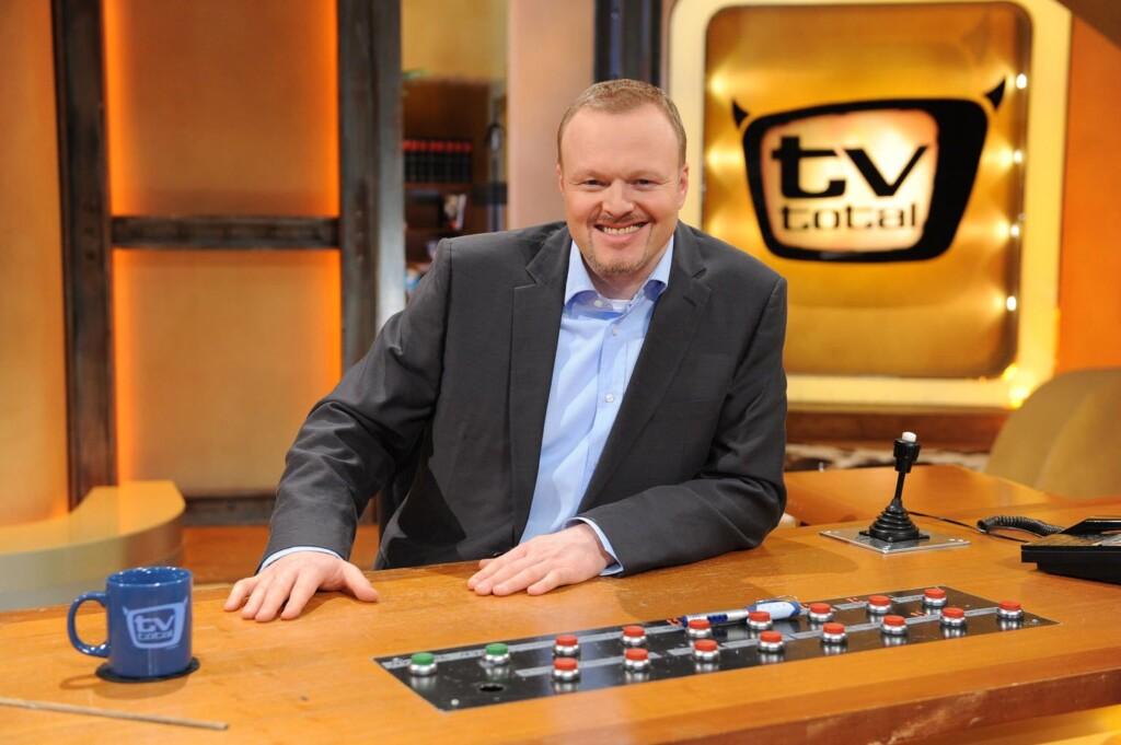 Stefan Raab präsentiert 'TV total'