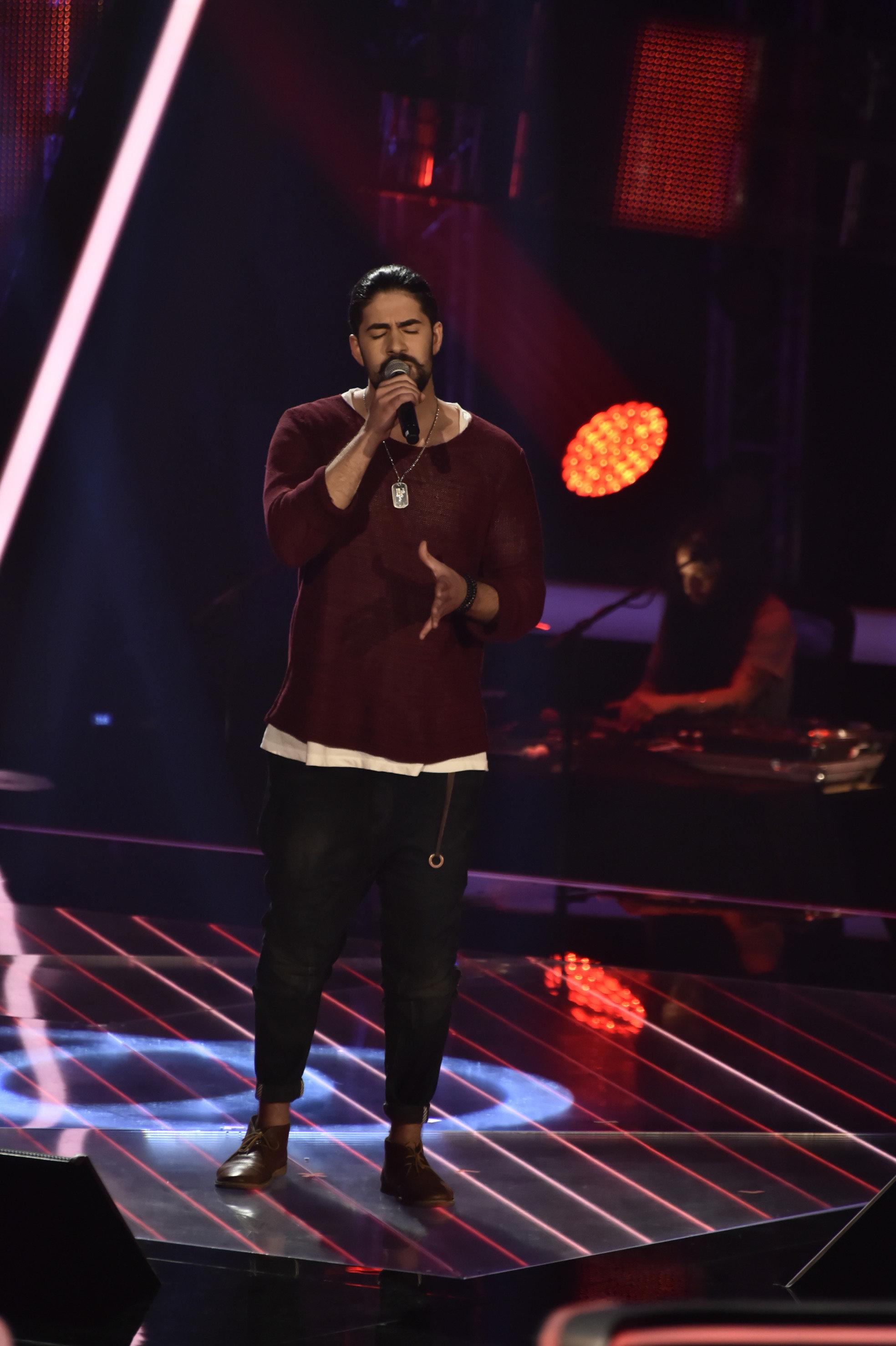 The Voice of Germany 2015 - Ronas Alp