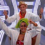 Promi Big Brother 2016 Tag 13 - Jessica und Frank im Sprechzimmer