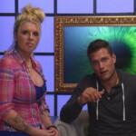 Big Brother Tag 17 – Sharon und Kevin im Sprechzimmer