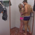 Big Brother Tag 22 - Sharon und Kevin unter der Dusche
