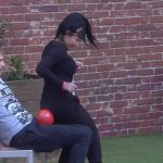 Big Brother Tag 27 - Lusy und Christian bei ihrem Match