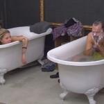 Big Brother Tag 29 - Sharon und Thomas baden