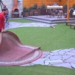 Big Brother Tag 33 - Guido schlägt den Teppich aus