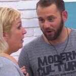Big Brother Tag 35 – Asa und Thomas bei ihrer Aussprache