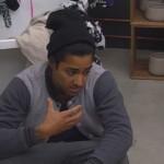 Big Brother Tag 35 – Atchi bei seiner Aussprache mit Lusy