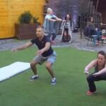Big Brother Tag 38 – Bianca und Christian beim Sport