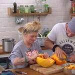 Big Brother Tag 39 - Sharon und Guido bereiten Kürbissuppe vor