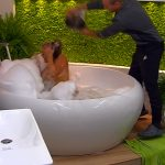 Promi Big Brother 2016 Tag 3 - Frank ärgert Jessica in der Badewanne
