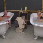 Big Brother Tag 3 - Sophia und Isabell nehmen ein Bad