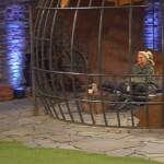 Big Brother Tag 50 - Sharon allein im Strafbereich
