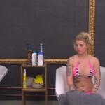 Big Brother Tag 58 – Sharon gönnt sich ein Bad