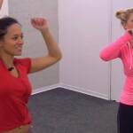 Big Brother Tag 58 – Sharon und Maria bei der Wochenaufgabe
