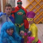 Big Brother Tag 6 - Lusy, Kevin, Bianca und Manuel als Superhelden