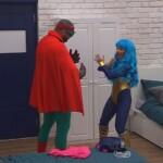 Big Brother Tag 6 - Manuel und Lusy als Superhelden