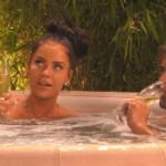 Tobi und Janine im Whirlpool