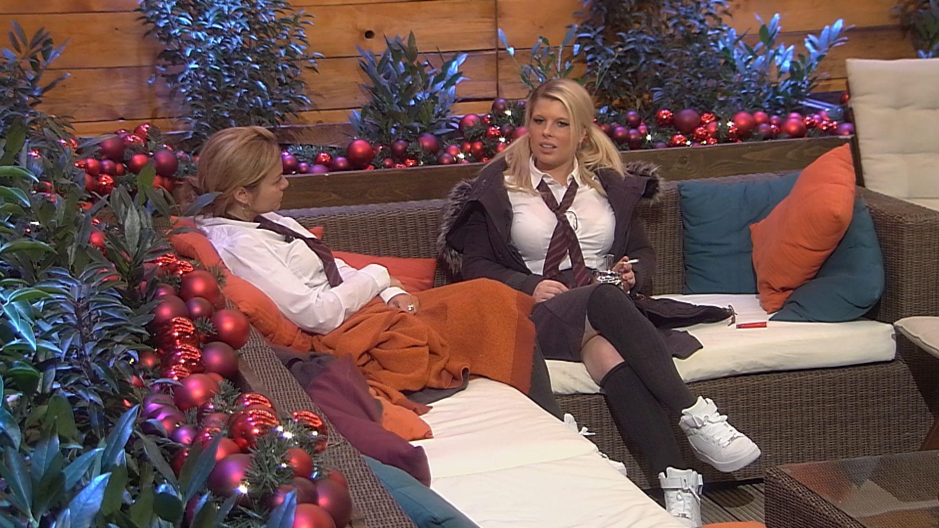 Big Brother Tag 72 - Beate und Sharon