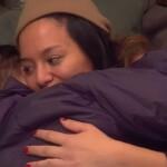 Big Brother Tag 75 - Maria und Christian umarmen sich
