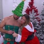 Big Brother Tag 77 - Thomas und Bianca beim Weihnachtsshooting