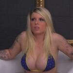 Big Brother Tag 82 – Sharon in der Eiswasser-Badewanne