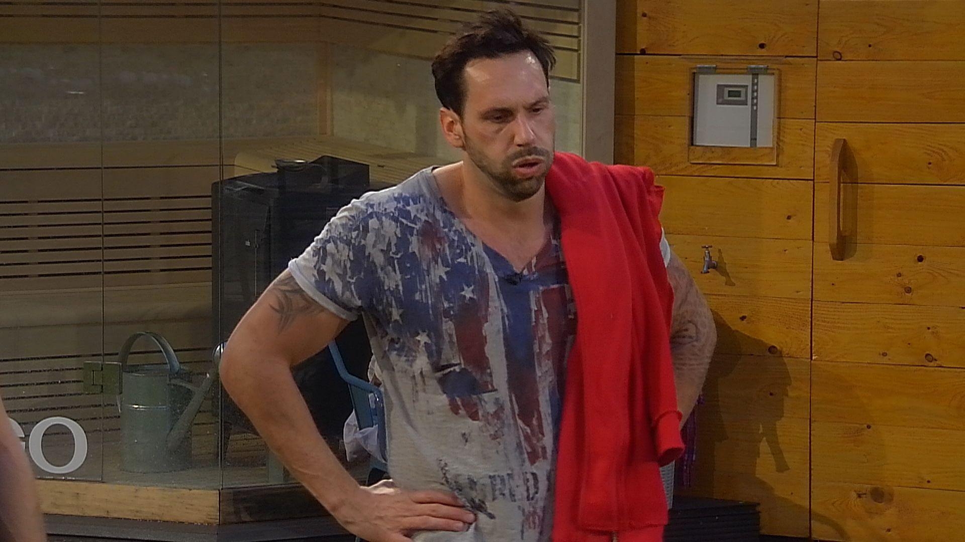 Big Brother Tag 86 - Guido beim Match Pumpen