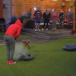 Big Brother Tag 86 - Christian und Guido beim Match Pumpen
