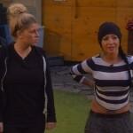 Big Brother Tag 87 - Sharon und Lusy beim Match Kuschelbär