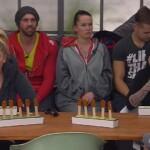"""Big Brother Tag 89 - Lusy und Sharon beim Match """"Mexikanisches Zungenlesen"""""""