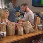 Big Brother Tag 89 - Essenslieferung für die Garten-Küche