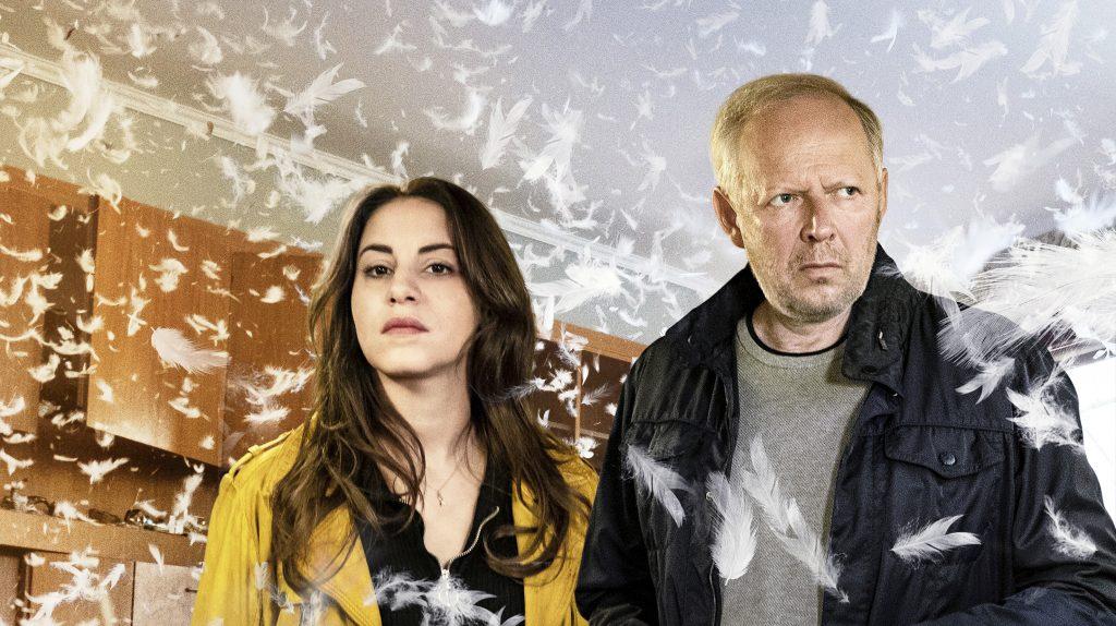 Almila Bagriacik (Mila Sahin) und Axel Milberg (Klaus Borowski).