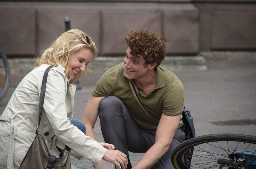Kleiner Flirt: Charlottte (Maria Furtwängler) und Nick (Daniel Donskoy).