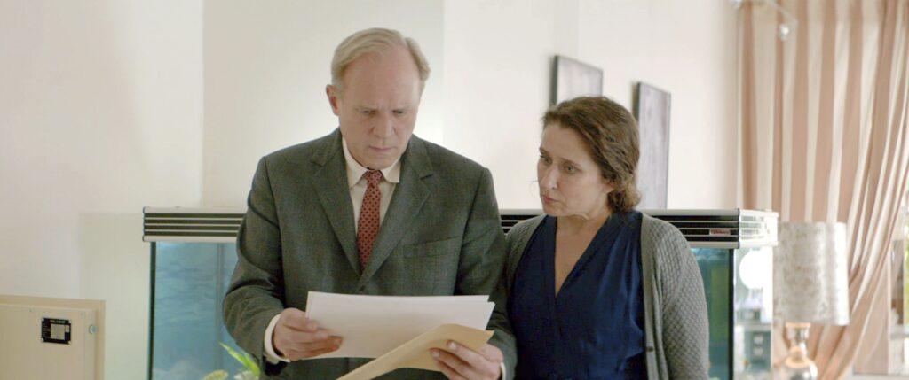 Felix Murot (Ulrich Tukur) und Magda Wächter (Barbara Philipp).