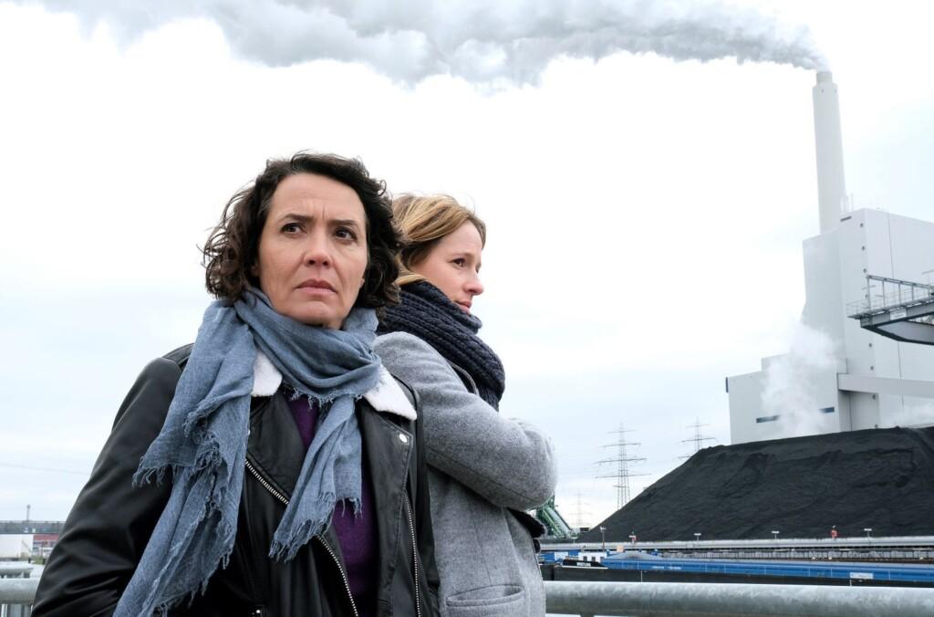 Die Ludwigshafener Kommissarinnen Lena Odenthal (Ulrike Folkerts) und Johanna Stern (Lisa Bitter).