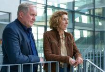 Kommissar Moritz Eisner (Harald Krassnitzer) und seine Kollegin Bibi Fellner (Adele Neuhauser).