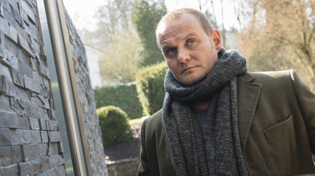 Hausbesuche: Devid Striesow alias Kriminalhauptkommissar Jens Stellbrink.