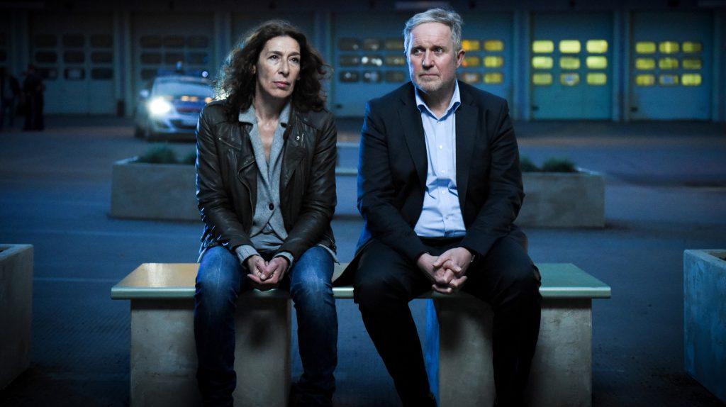 Bibi Fellner (Adele Neuhauser) und ihr Kollege Moritz Eisner (Harald Krassnitzer)
