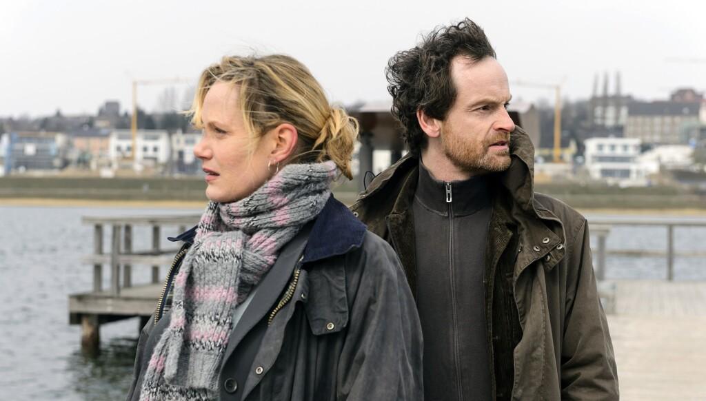 Peter Faber (Jörg Hartmann) und Martina Bönisch (Anna Schudt) am Phöenixsee.