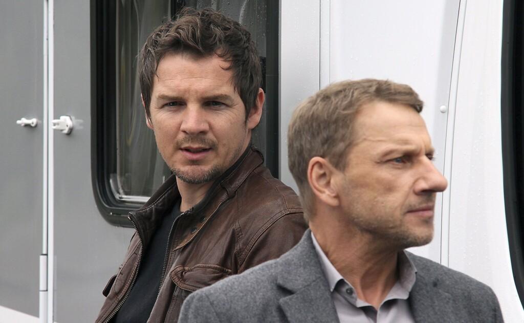 Sebastian Bootz (Felix Klare) und Thorsten Lannert (Richy Müller) sind verschiedener Meinung.