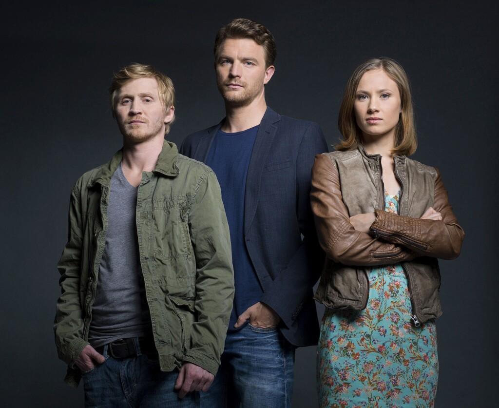 Neues Tatort-Team aus Erfurt: Benjamin Kramme, Friedrich Mücke und Alina Levshin