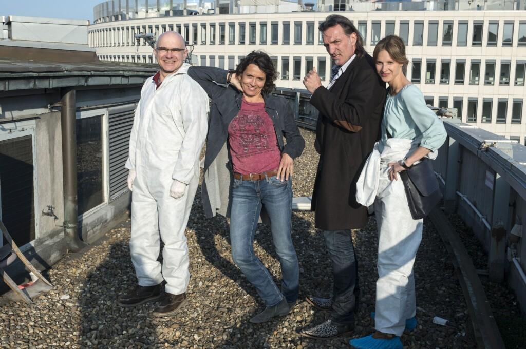 Das Ludwigshafener Team: Peter Espeloer, Urike Folkerts, Andreas Hoppe und Lisa Bitter.