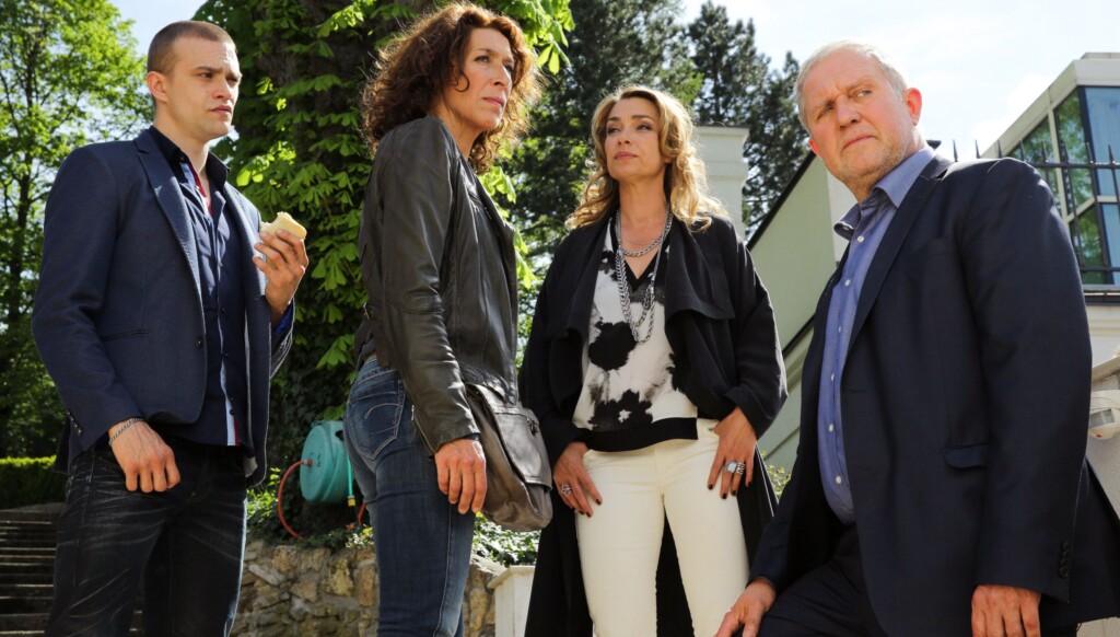 Benny Raggl (Michael Steinocher), Bibi Fellner (Adele Neuhauser), Angelika Hausberger (Aglaia Szyszkowitz), Moritz Eisner (Harald Krassnitzer).