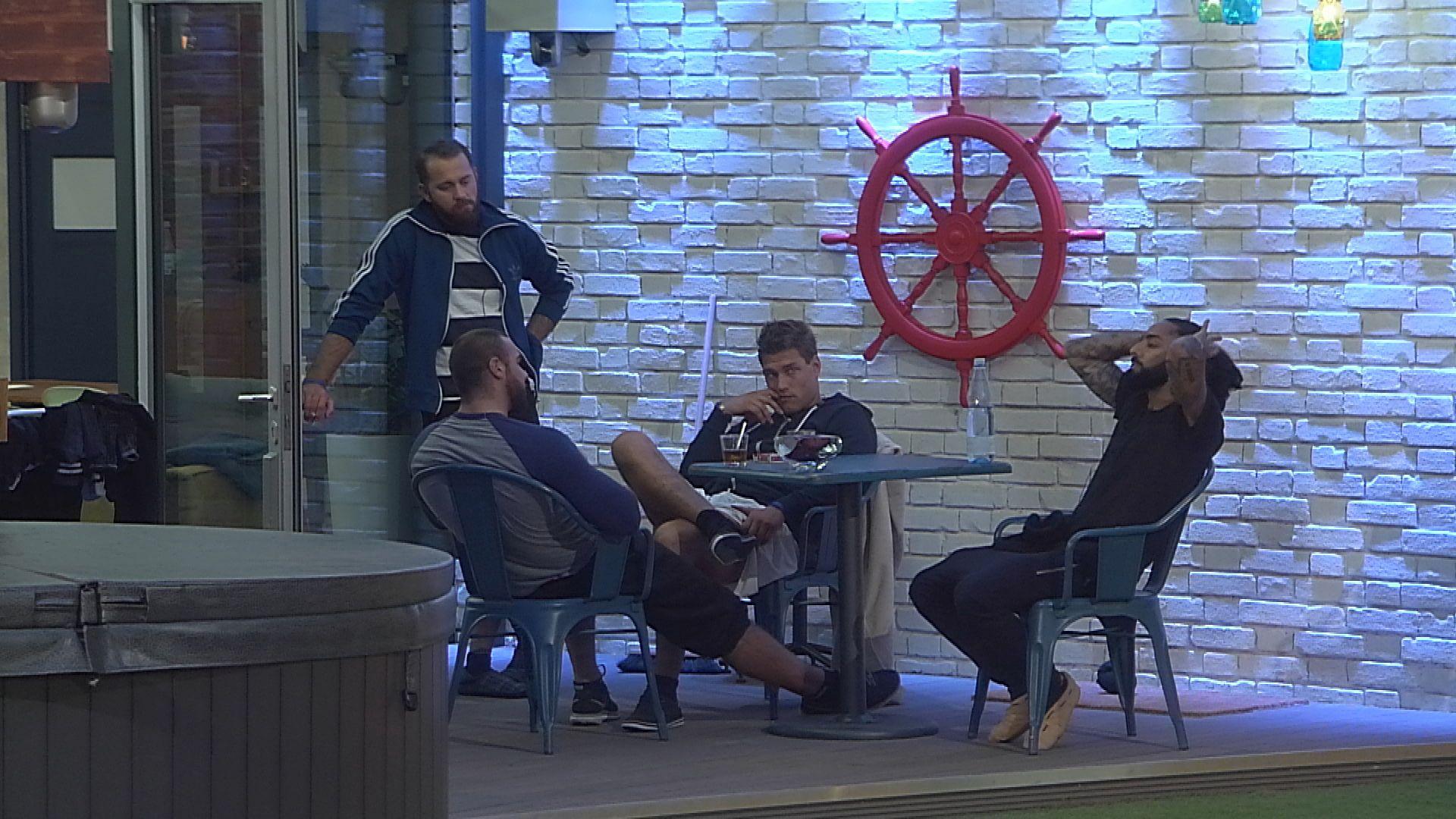 Big Brother Tag 16 - Männergespräche