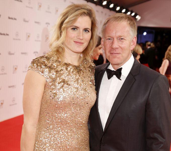 Johannes B. Kerner und Ehefrau Britta Becker-Kerner