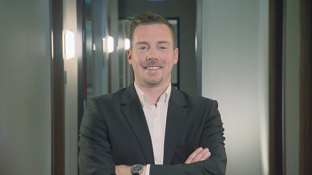 André Schwämmlein (33) ist einer der fünf Gründer von MeinFernbus FlixBus.
