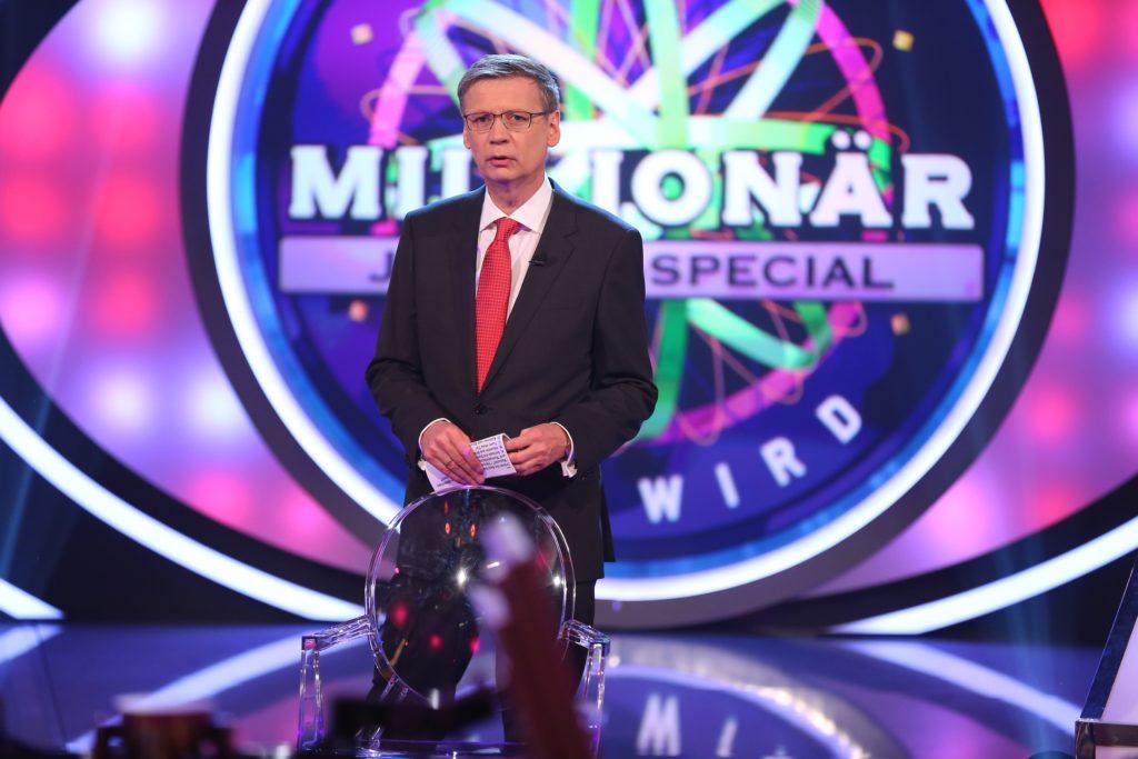 Günther Jauch moderiert das Jackpot-Special