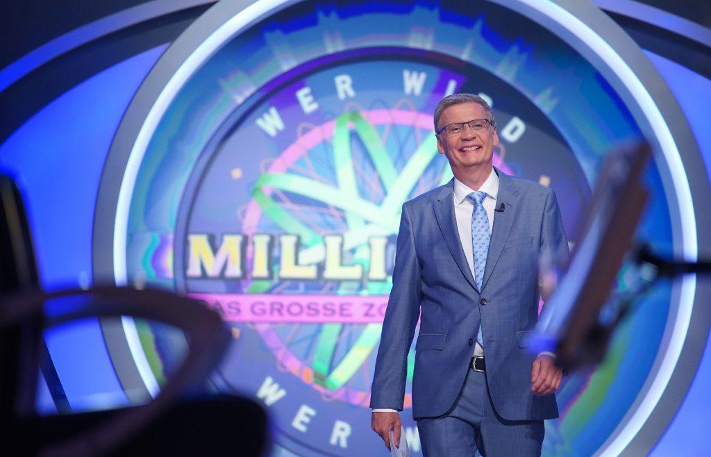 """Günther Jauch moderiert """"Wer wird Millionär? - Das große Zocker-Special"""" bei RTL"""