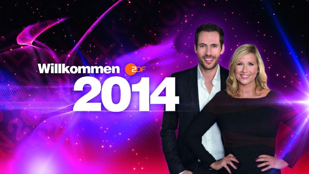 Andrea Kiewel und Alexander Mazza moderieren den Silvesterabend im ZDF