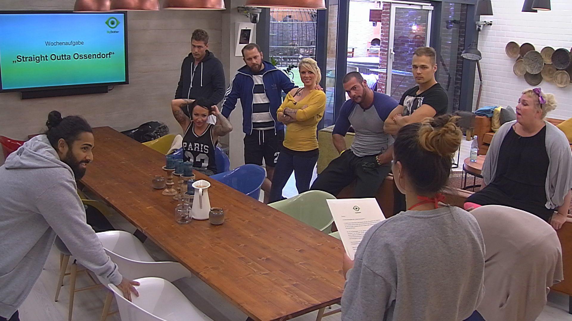 Big Brother Tag 16 - Die neue Wochenaufgabe